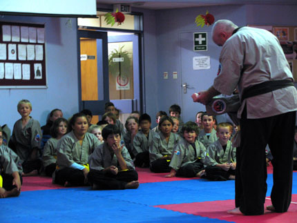 Sigung Gary O'Sullivan teaching Childrens Class